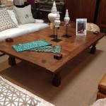Wooden Oversized Coffee Table