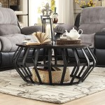 Cage Overstock Coffee Table
