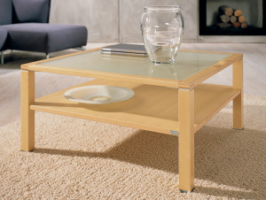 Maple Coffee Table With Glass Insert Coffee Tables - Maple and glass coffee table