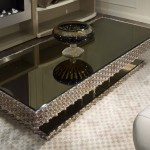 Glossy Rectangular Coffee Table