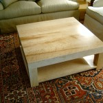 Handmade Maple Coffee Table