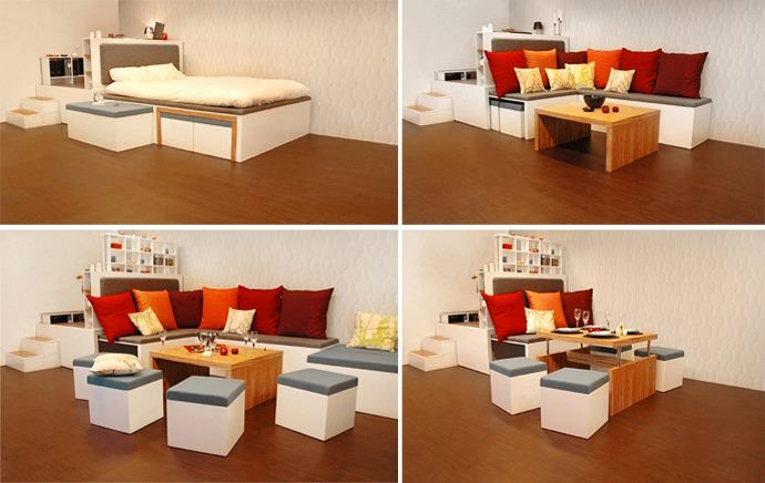 Idea of Coffee Table for Small Spaces