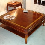 Large Mahogany Coffee Table