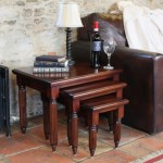 Mahogany Coffee Table Set