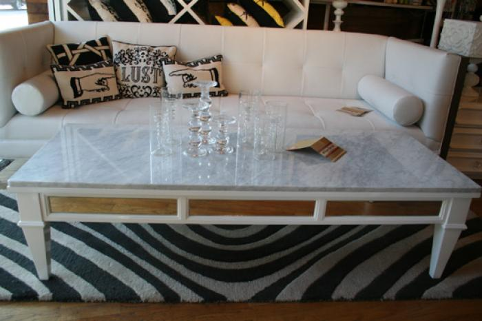Marble Rectangular Coffee Table
