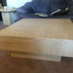 Massive Travertine Coffee Table