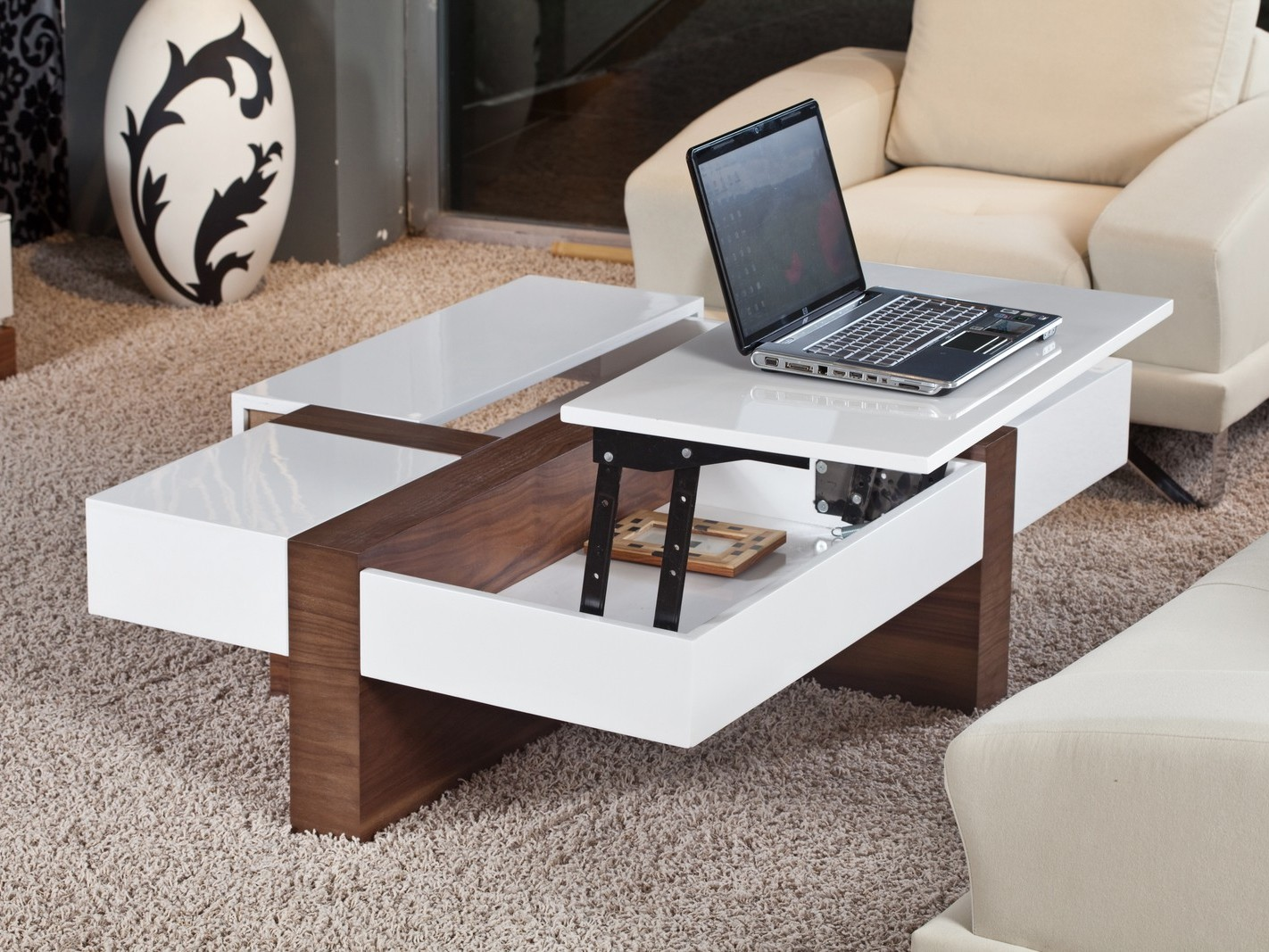 Modern Pop Up Coffee Table  Coffee Tables