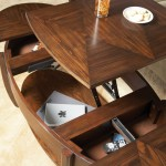 Oval Lift-Top Coffee Tables Galore