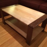 Pretty Maple Coffee Table