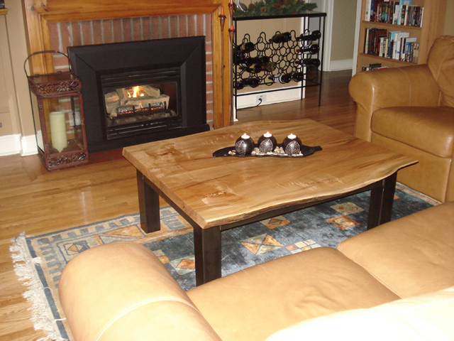 Reclaimed  Maple Coffee Table