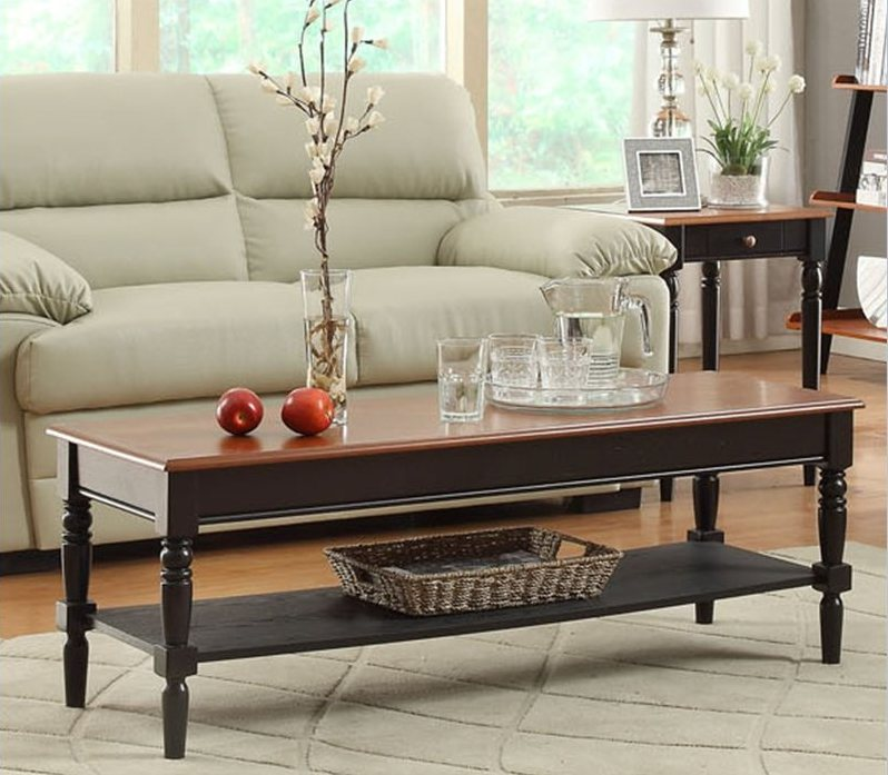 Rectangular French Country Coffee Table Image And Description