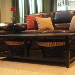 Stupendous Dark Wood Coffee Table