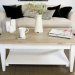 Stylish French Country Coffee Table