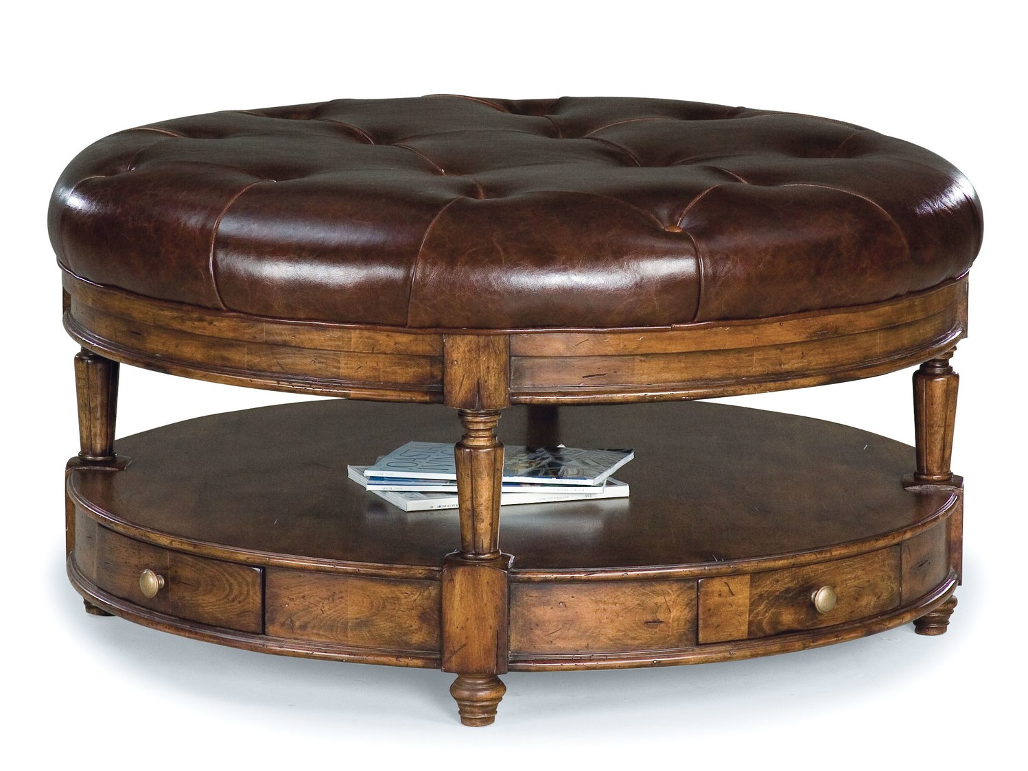Tufted Ottoman Coffee Table Faux Leather Ottomans U Storage Ottomans Shop The Best Deals For