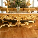 Beautiful Gold Coffee Table