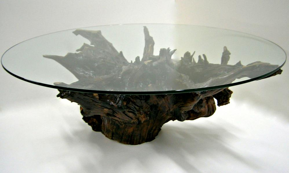 Cool Root Base Coffee Table Image And Description