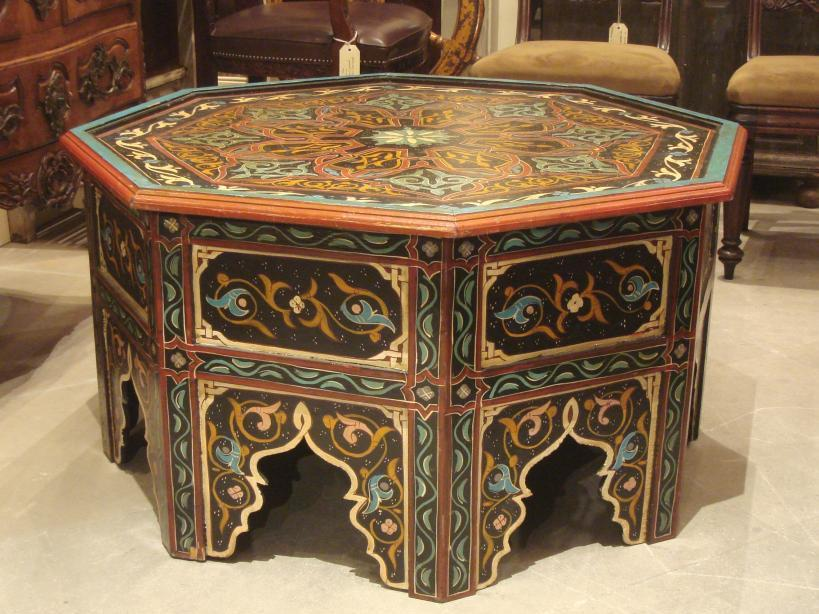 Creative Moroccan Coffee Table