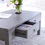 Dark Grey Coffee Table