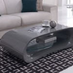Glossy Grey Coffee Table