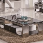 Glossy Steel Coffee Table