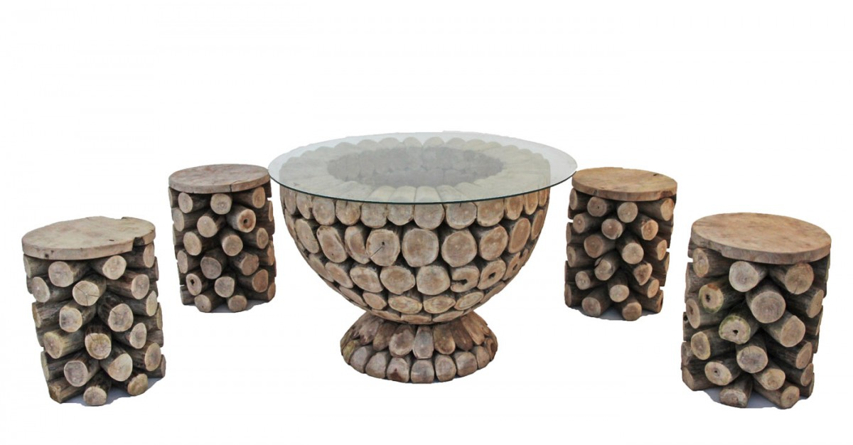 Round Coffee Table With 4 Stools Buethe Org