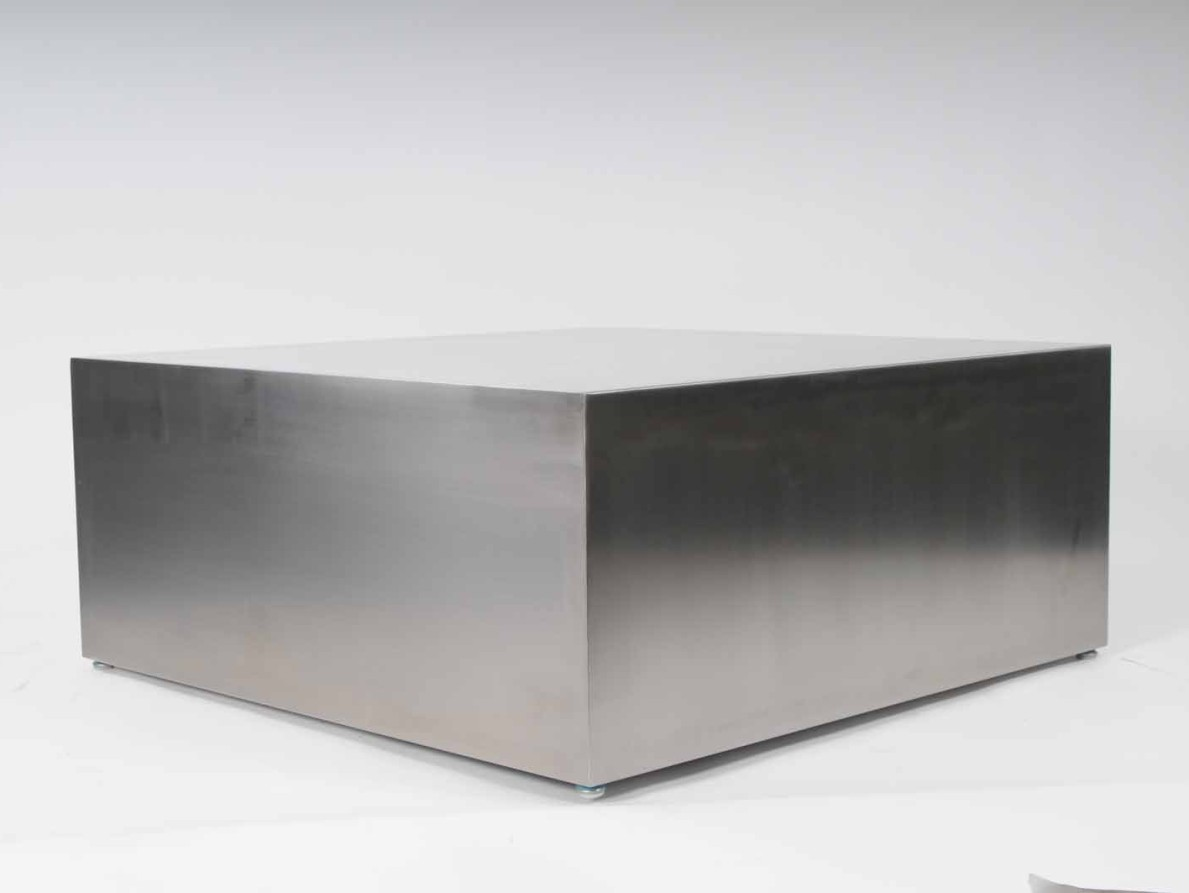 Massive Steel Coffee Table