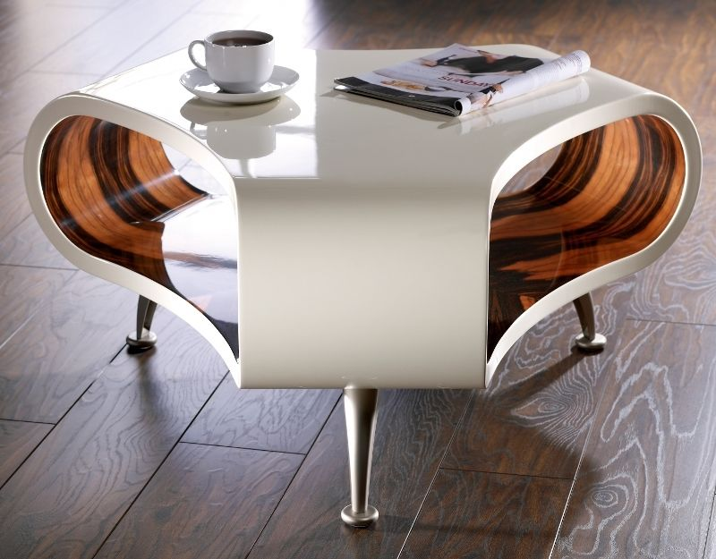 Modern Coffee Table On Wheels