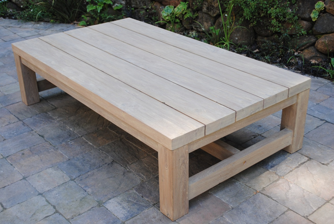 Patio Coffee Table With Storage Modern Patio Outdoor