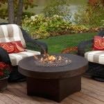 Patio Coffee Table With Firepit