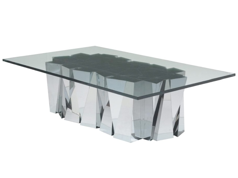 Rectangle Steel Coffee Table