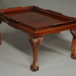 Redwood Tray Top Coffee Table