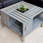 Selfmade Patio Coffee Table