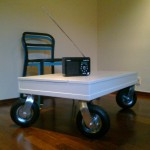 Small Coffee Table On Wheels