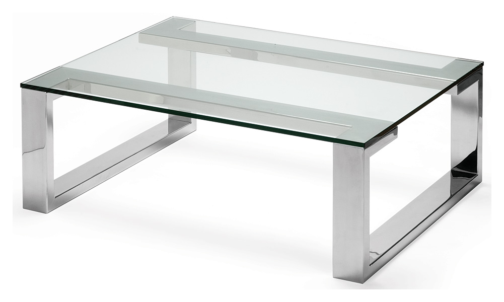 Steel And Glass Coffee Table Image And Description