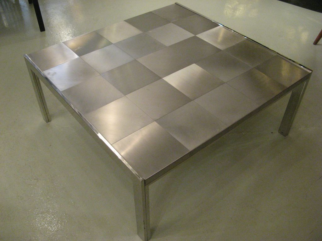 Tiled Steel Coffee Table