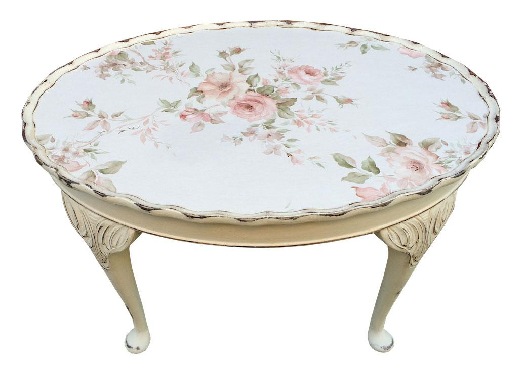 Art Shabby Chic Coffee Table