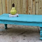 Bright Shabby Chic Coffee Table