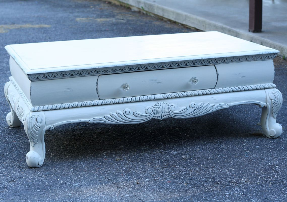 Classic Shabby Chic Coffee Table