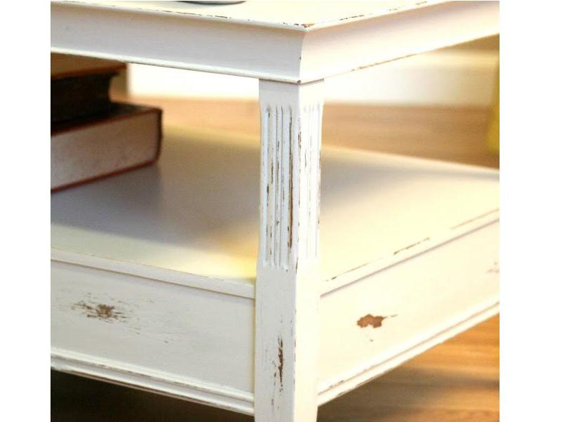 DIY Shabby Chic Coffee Table