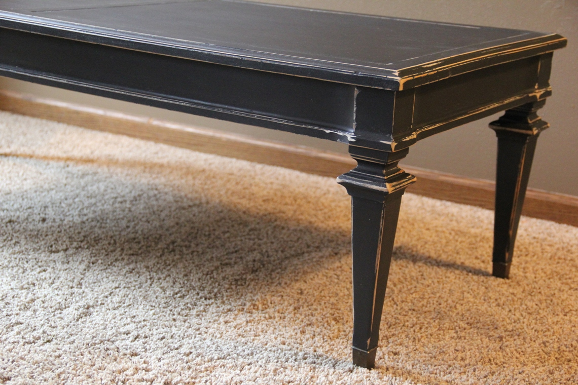 Dark Shabby Chic Coffee Table