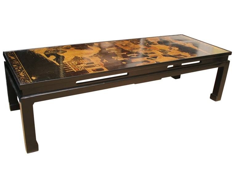 Decorated Chinese Coffee Table