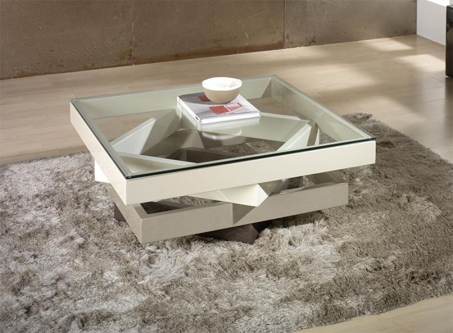 Gl Top Cream Coffee Table Image And Description