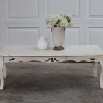 Graceful Shabby Chic Coffee Table