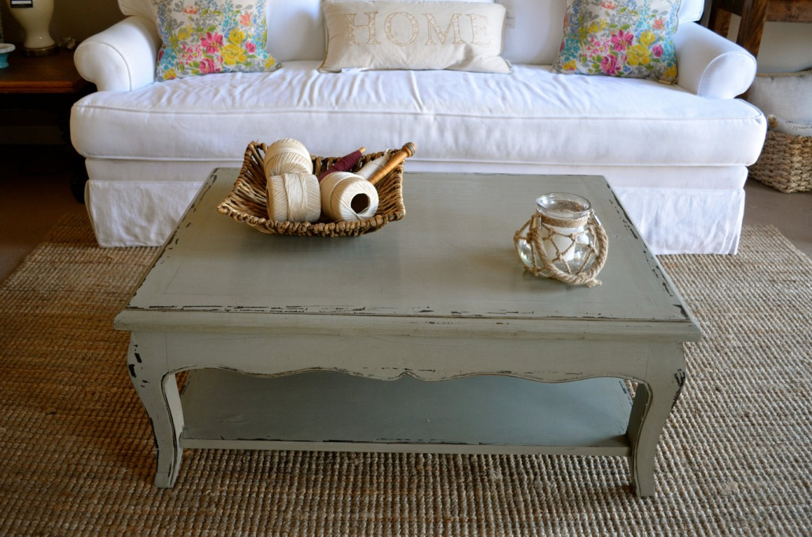 Massive Shabby Chic Coffee Table