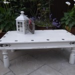 Outdoor Shabby Chic Coffee Table