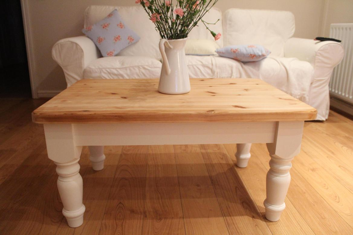 Rectangular Shabby Chic Coffee Table