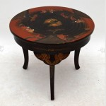Round Chinese Coffee Table