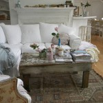 Simple Shabby Chic Coffee Table