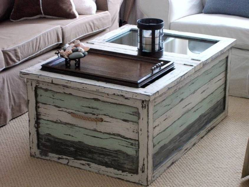 shabby chic coffee table Trunk Shabby Chic Coffee Table | Coffee Tables shabby chic coffee table