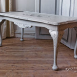 Wooden Shabby Chic Coffee Table